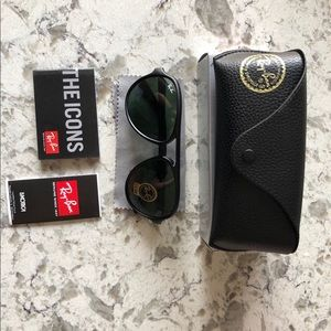 Ray-Ban CATS-5000 RB4125 RB GreenClassic G-15 59mm